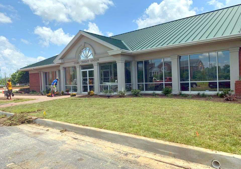 CORE Credit Union Landscape Renovation